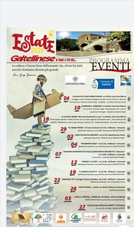 Eventi Estate Galtellinese 2020